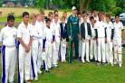 Merchant Taylors' cricketers got to meet Australia's Steven Smith, among others.