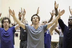 First look at Benedict Cumberbatch as Hamlet