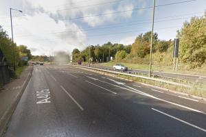 Man arrested after M1 armed police chase