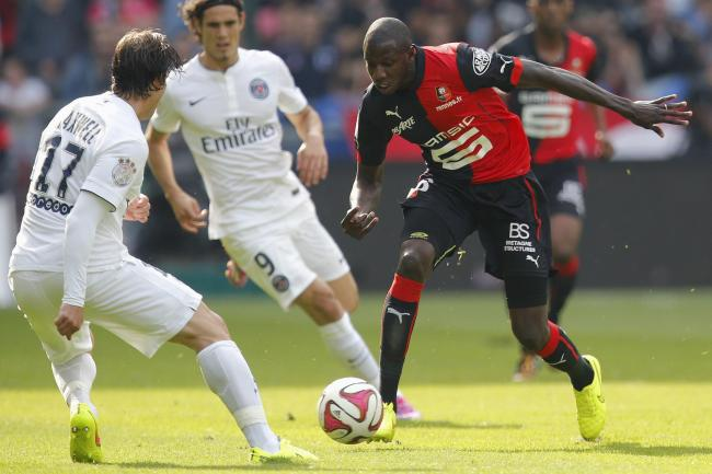 Abdoulaye Doucoure in action against Paris St Germain. Picture: Action Images