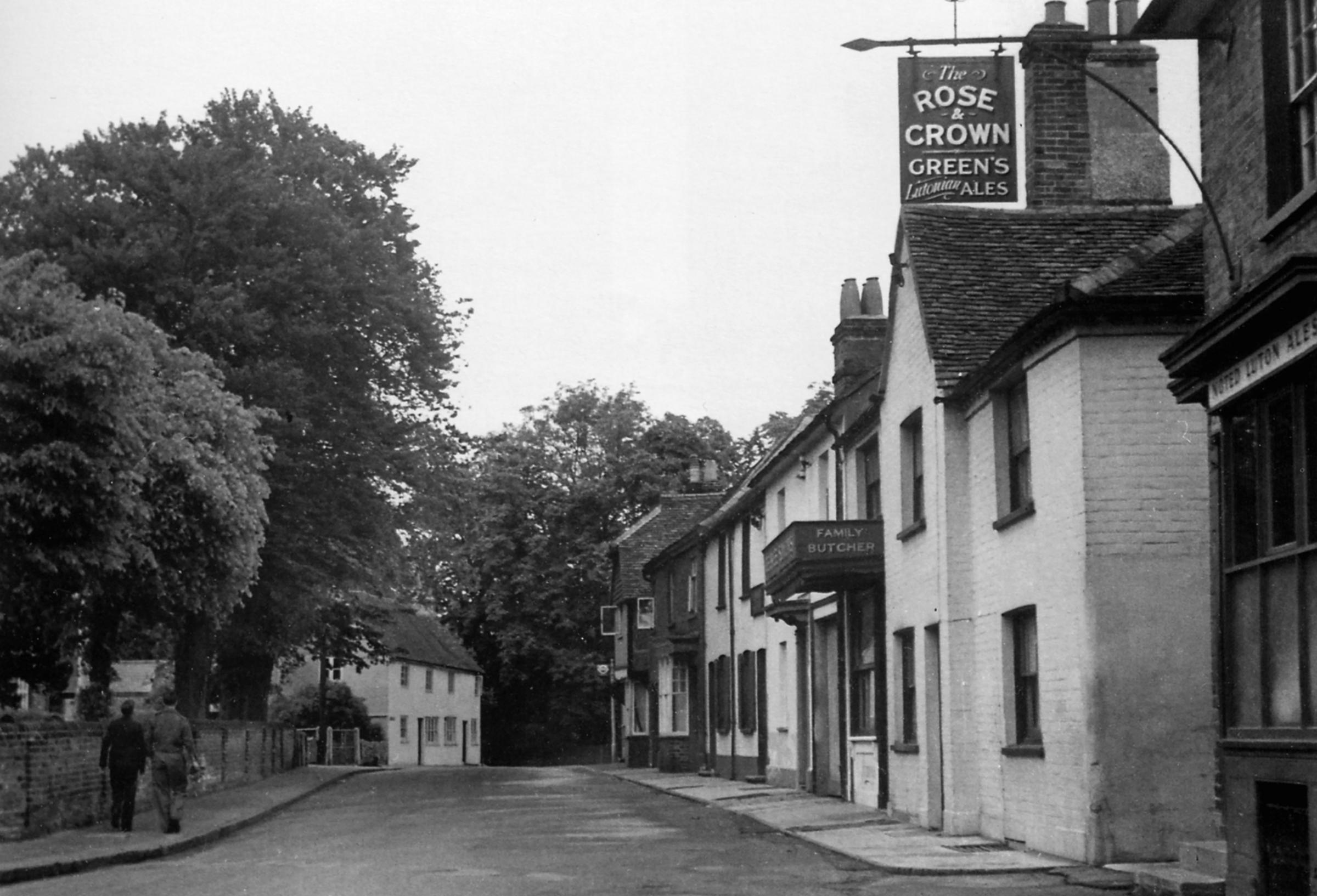 Abbots Langley, shown here in the 1950s, has three links to the Whitechapel Murders