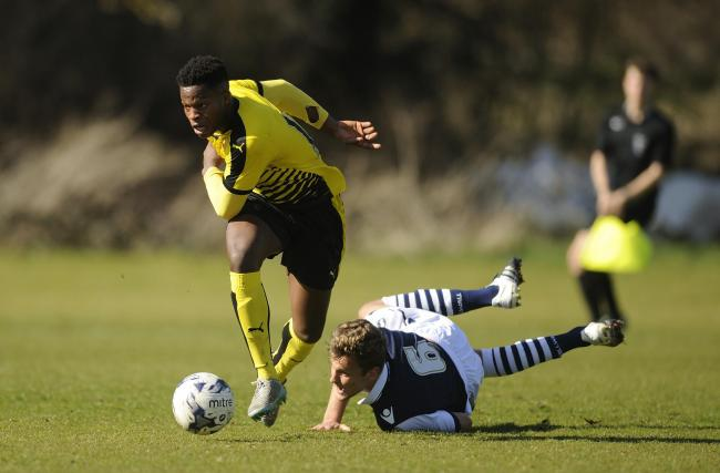 Ola Adeyemo recently signed for the Hornets: Alan Cozzi/Watford FC