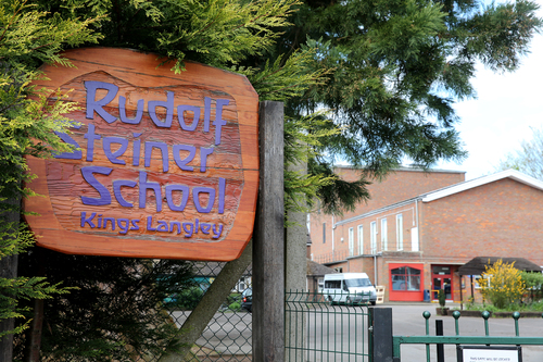 The school in Langley Hill was visited by inspectors earlier this month
