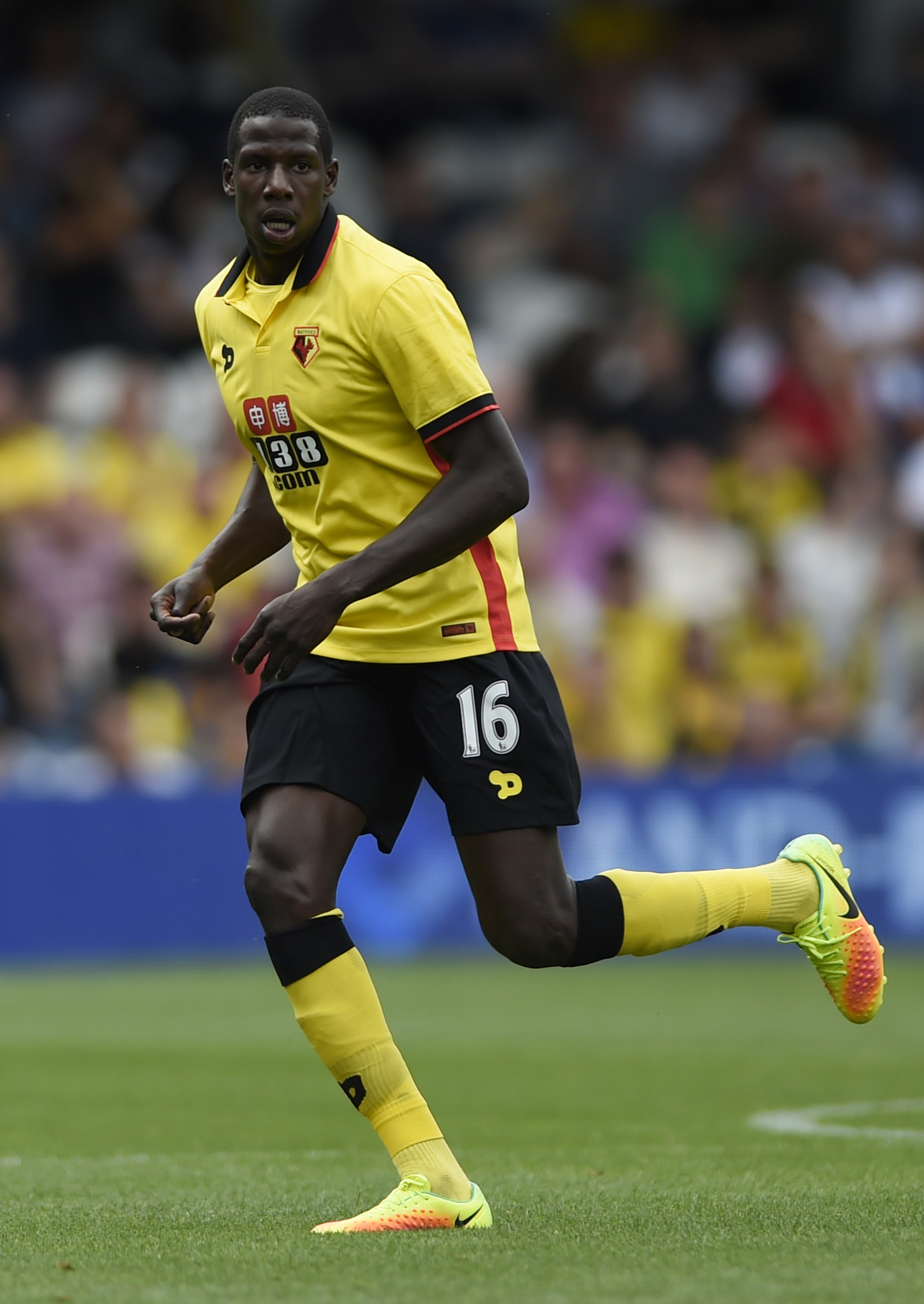 Abdoulaye Doucoure has been named in Watford's squad. Picture: Action Images