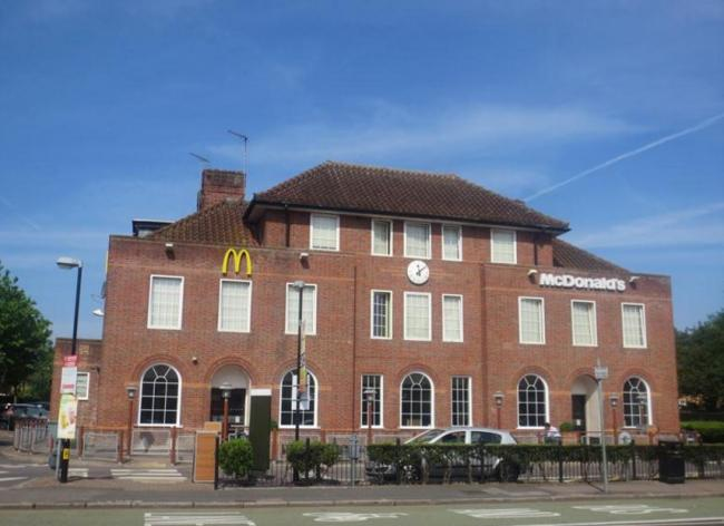 fast food outlet in watford given green light to expand watford the mcdonald s chain in st albans road will expand image google street view