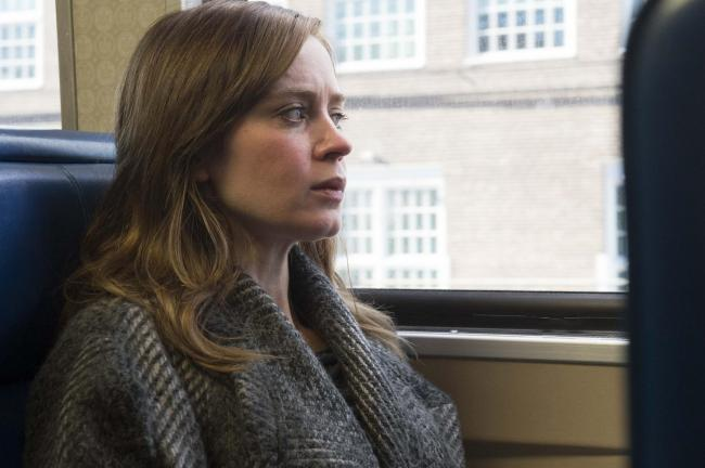 The Girl On The Train. Pictured: Emily Blunt as Rachel Watson. Picture credit: PA Photo/Universal Pictures.