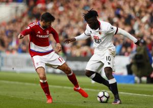 Watford Observer: Isaac Success could miss this weekend's trip to Swansea due to injury