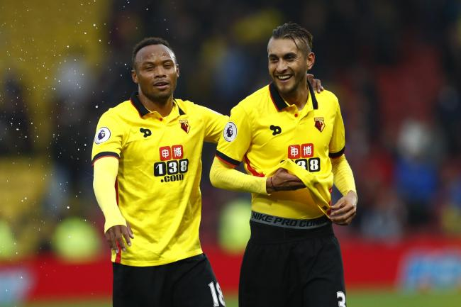 Watford suffered no distractions on the pitch during their win: Action Images