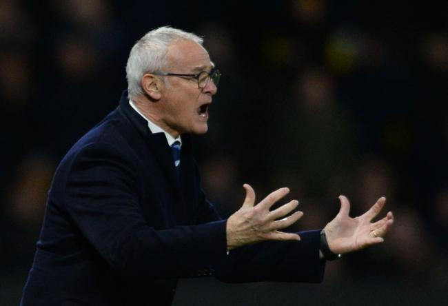 Claudio Ranieri cut a disappointed figure after Watford beat his Leicester side 2-1 at Vicarage Road. Picture: Action Images