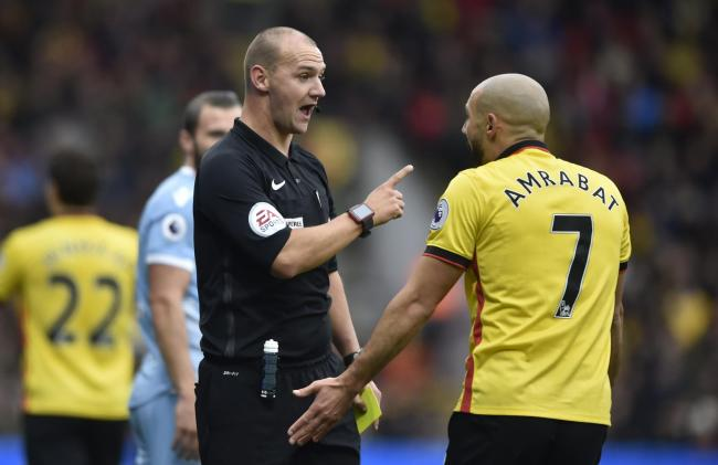 Referee Bobby Madley's performance was criticised by Walter Mazzarri: Action Images