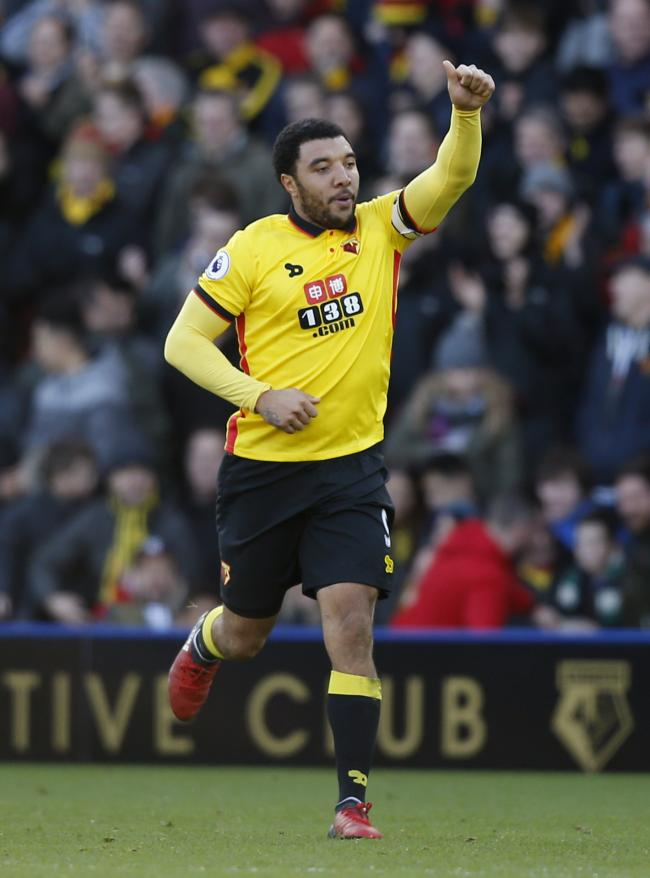 Troy Deeney rescued a point with his 100th Watford goal: Action Images