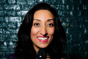 Comedian Shazia Mirza brings The Kardashians Made Me Do It to the Alban Arena