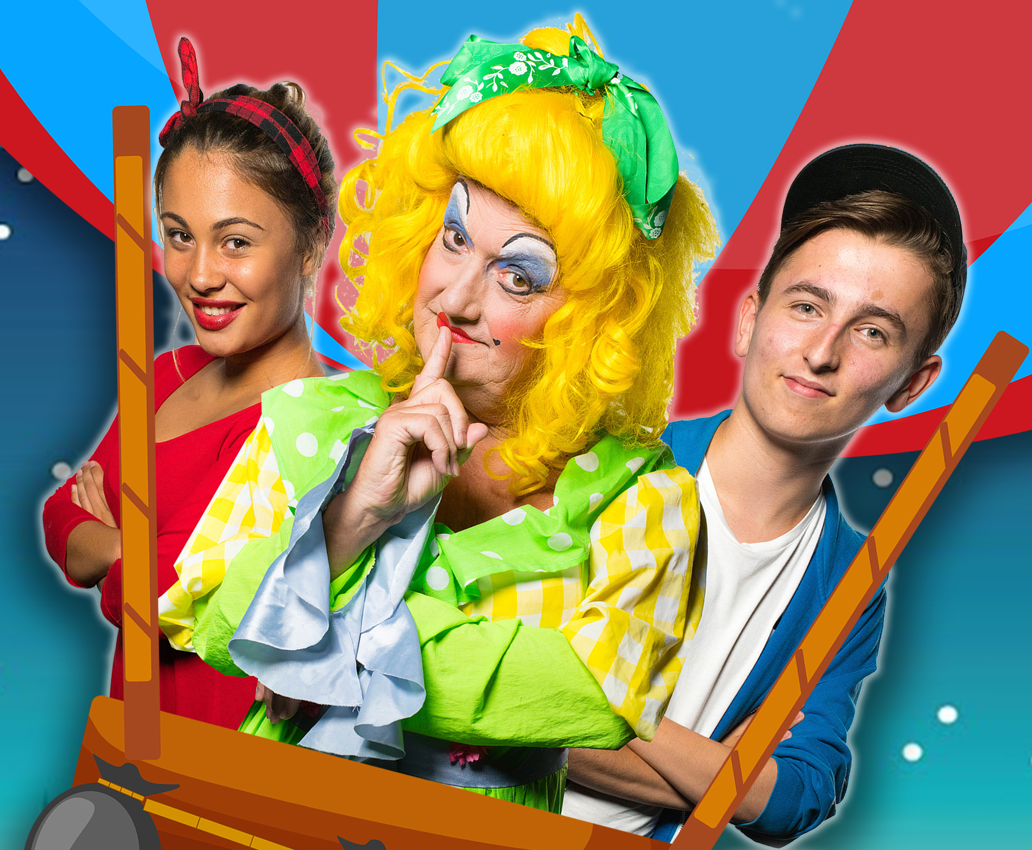 Mother Goose - the Kings Langley Players take to the Community Centre stage