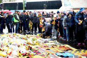 Watford Observer: Bradley Hayden pays tribute to Graham Taylor in his fan's view after an emotional day at Vicarage Road