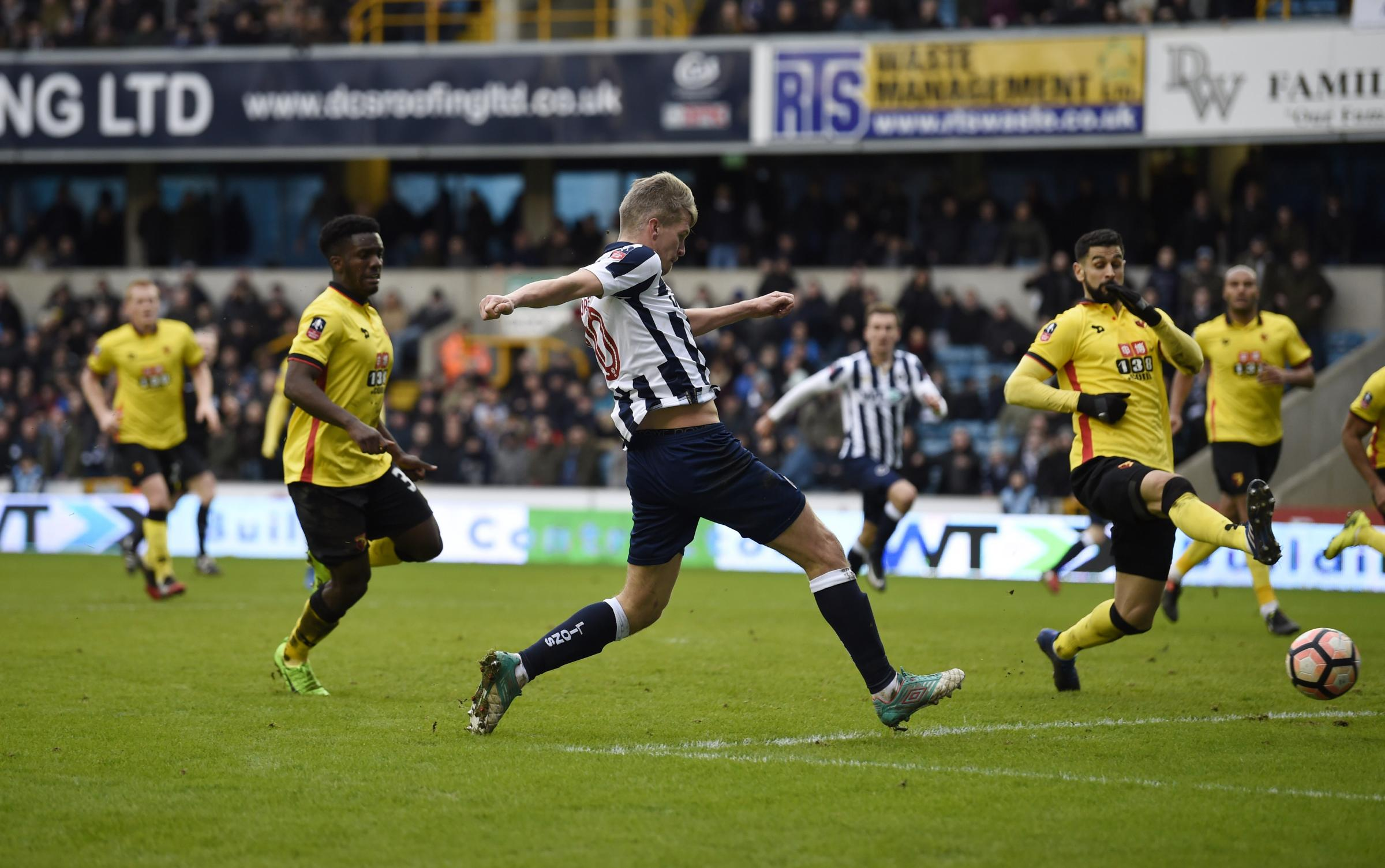 Image result for watford vs Millwall