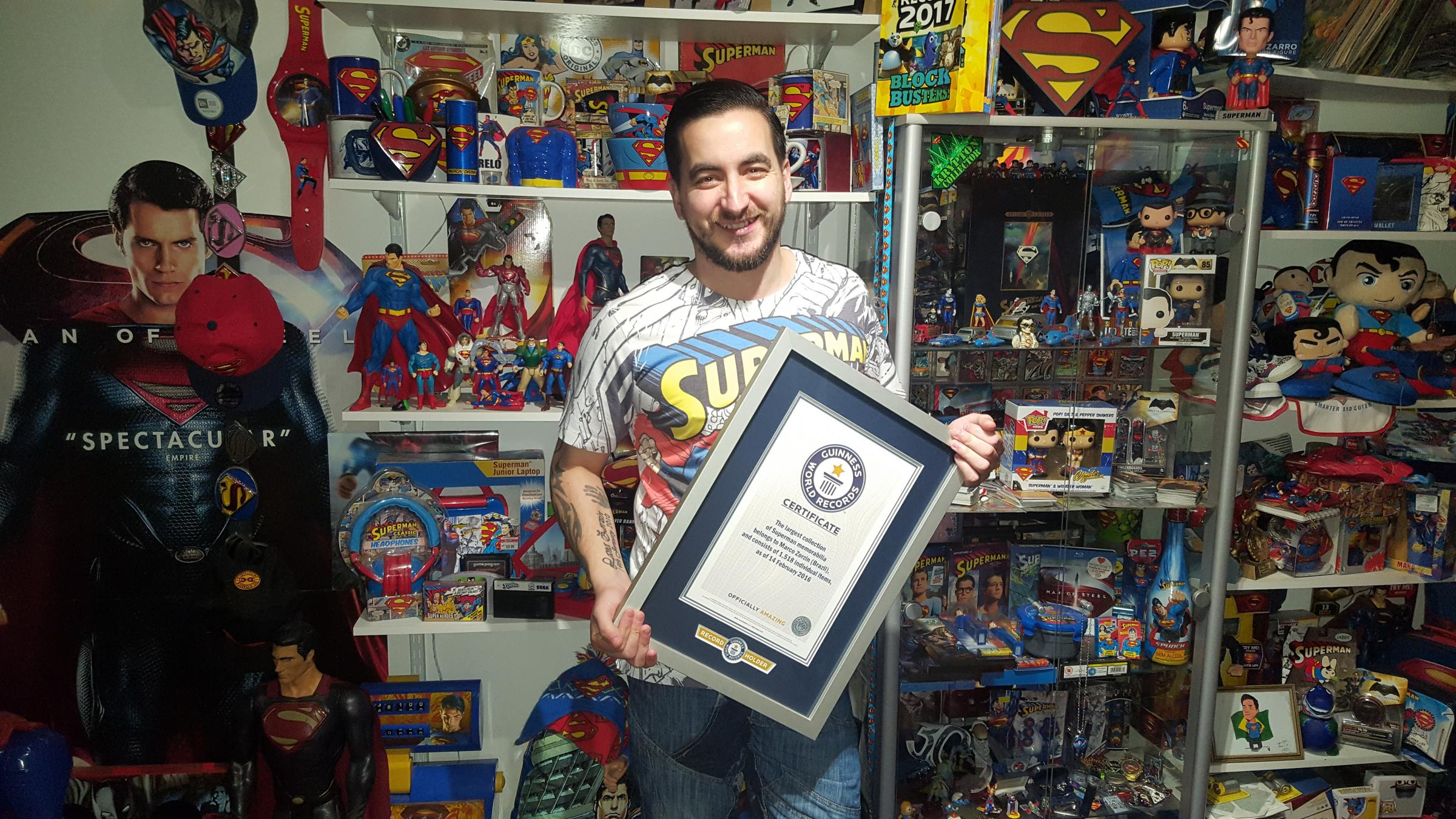 My middle name is Superman\': Superfan\'s record-breaking collection ...