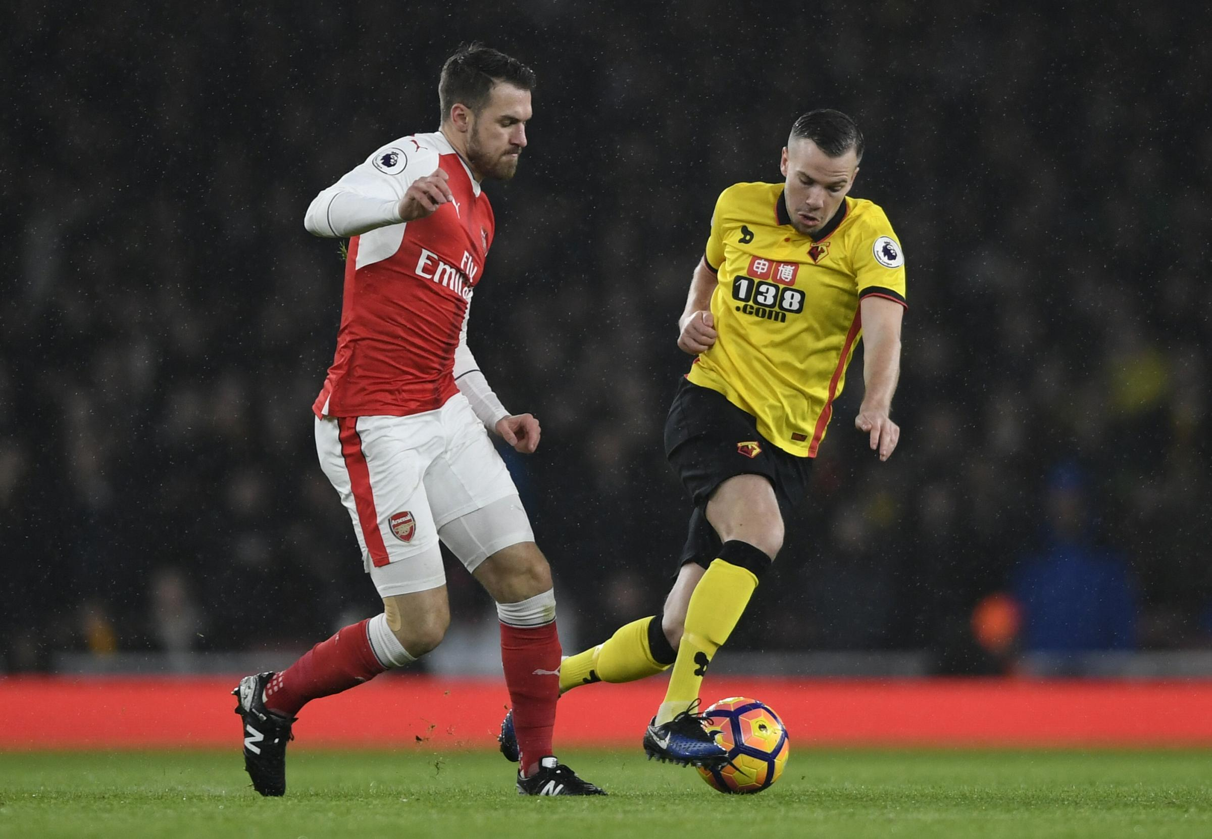 Tom Cleverley has settled in quickly at Watford. Picture: Action Images
