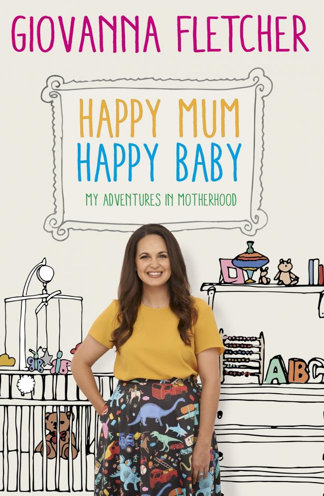 Giovanna Fletcher, author of Happy Happy Mum, Happy Baby