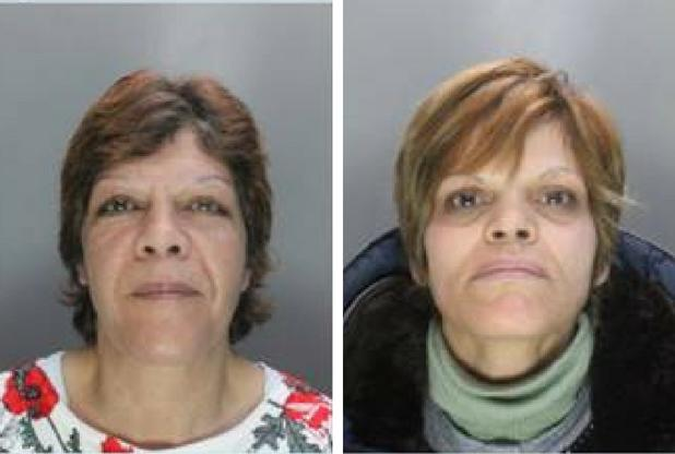Victoria Calescu and Simona-Carmen Barabas were found guilty of a number of offences