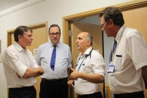 Watford MP Richard Harrington thinks the appointments will help A&E departments