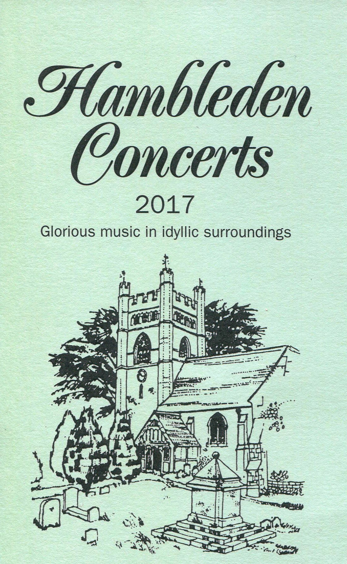 The Hambleden Concerts 2017