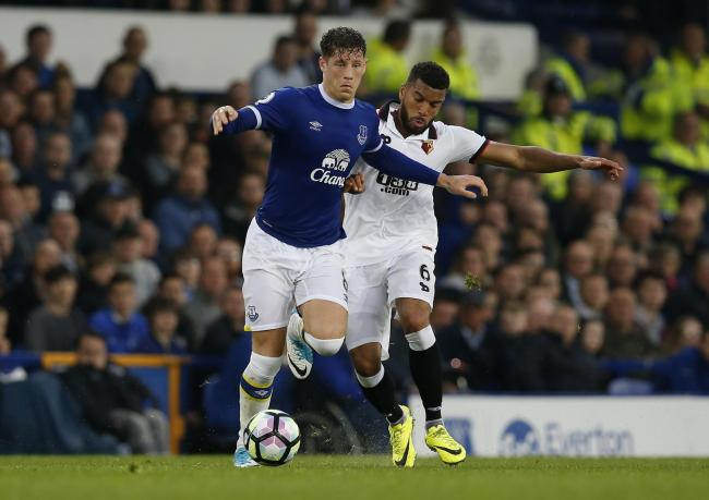 Adrian Mariappa couldn't prevent Watford slipping to a 1-0 defeat against Everton. Picture: Action Images