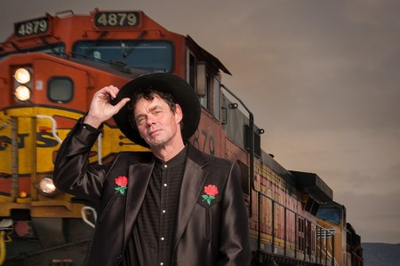 Rich Hall - photo by Rab Cummings
