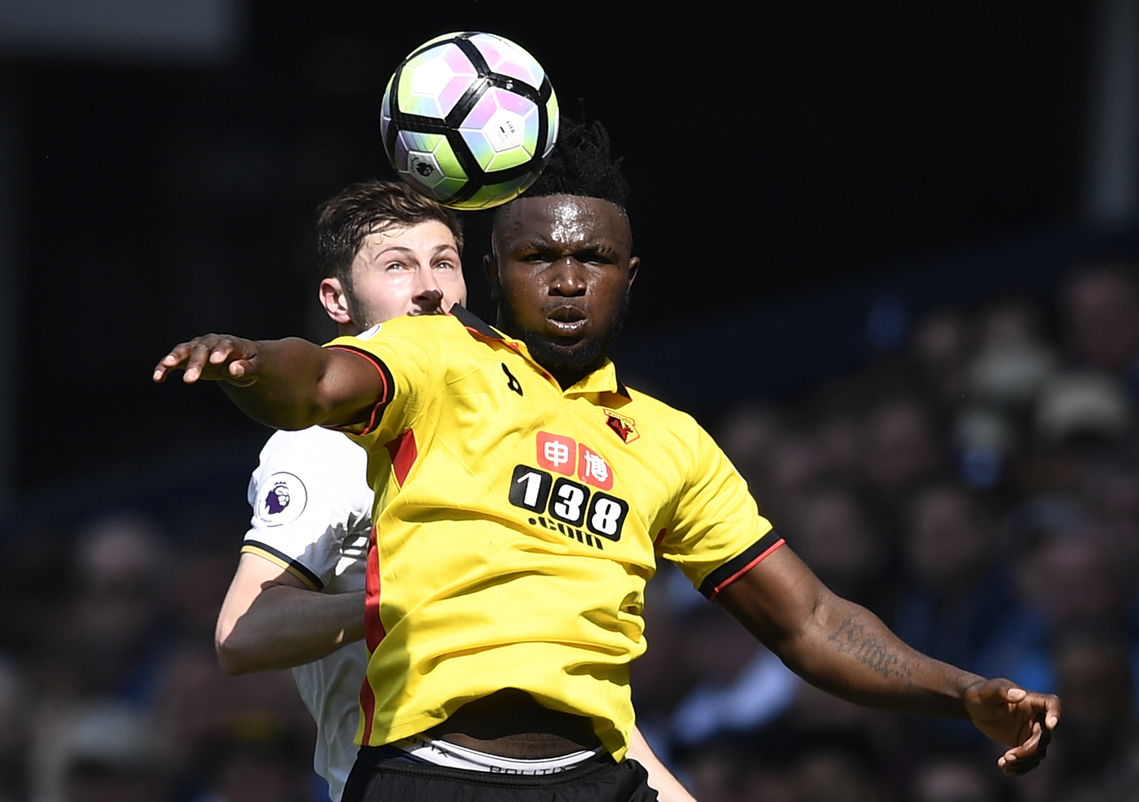 Isaac Success' one appearance this season came in the Carabao Cup defeat to Bristol City in August. Picture: Action Images