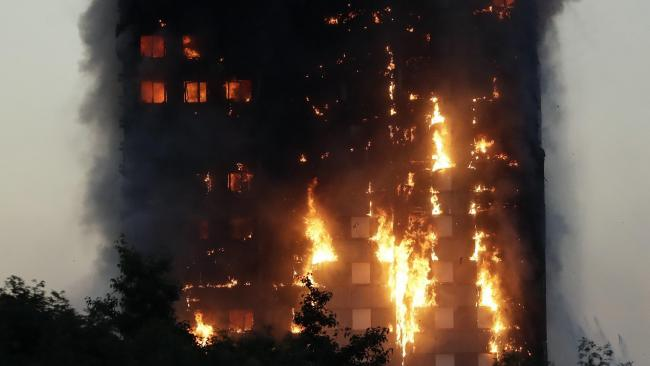 At least 12 dead in Grenfell Tower inferno
