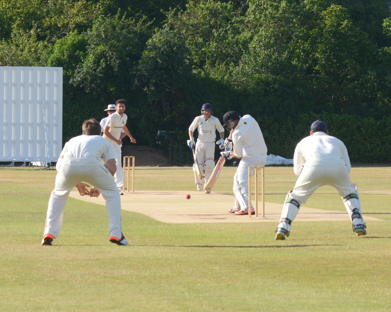 Radlett and Abbots Langley could meet in the Shield final for a third time in four years. Picture: Len Kerswill