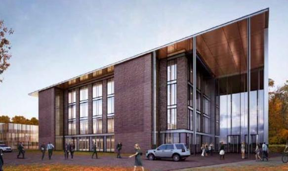 How the second office building of four will look