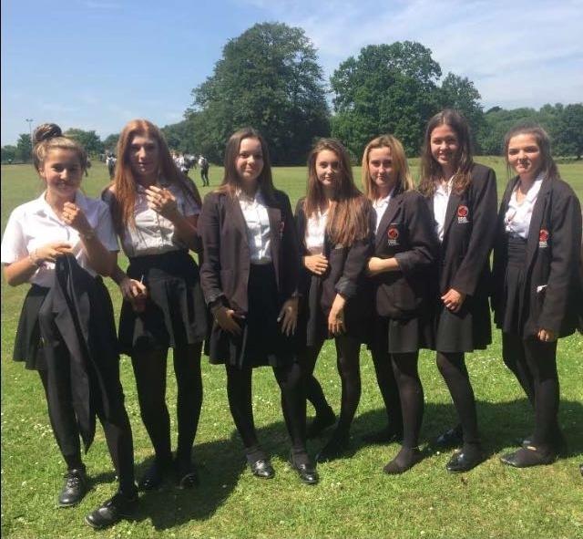 Yes special Girls wearing black pantyhose