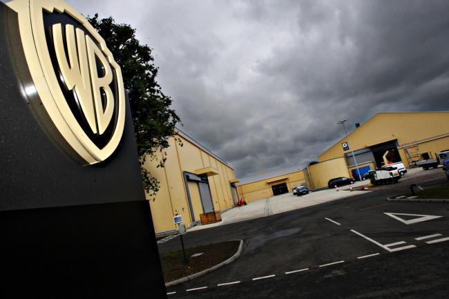 Police are investigating an alleged stabbing at the Warner Bros studios