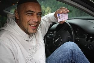 Pete Nash has been given his driving licence back.