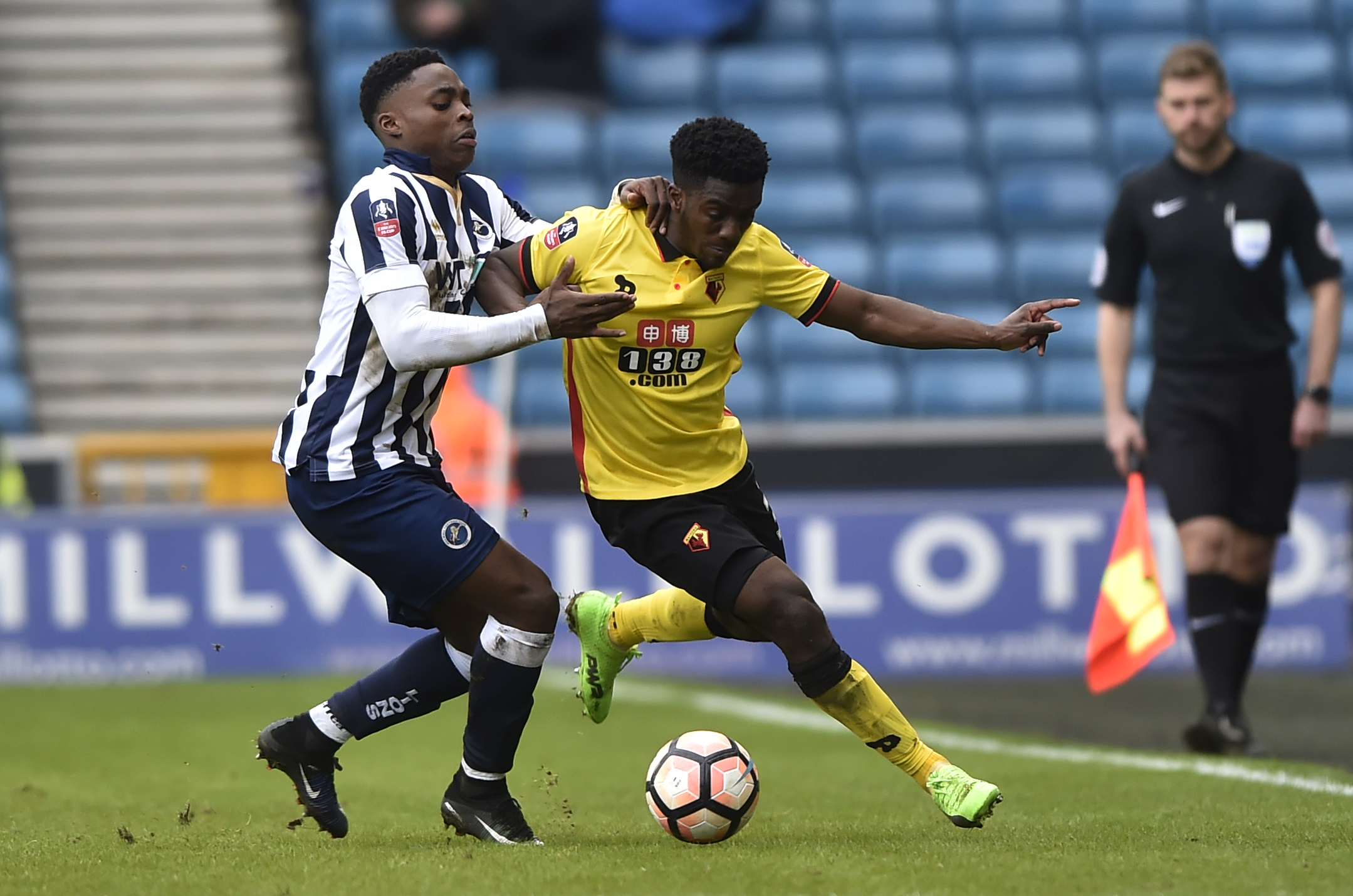 Brandon Mason played four times for Watford last season. Picture: Action Images