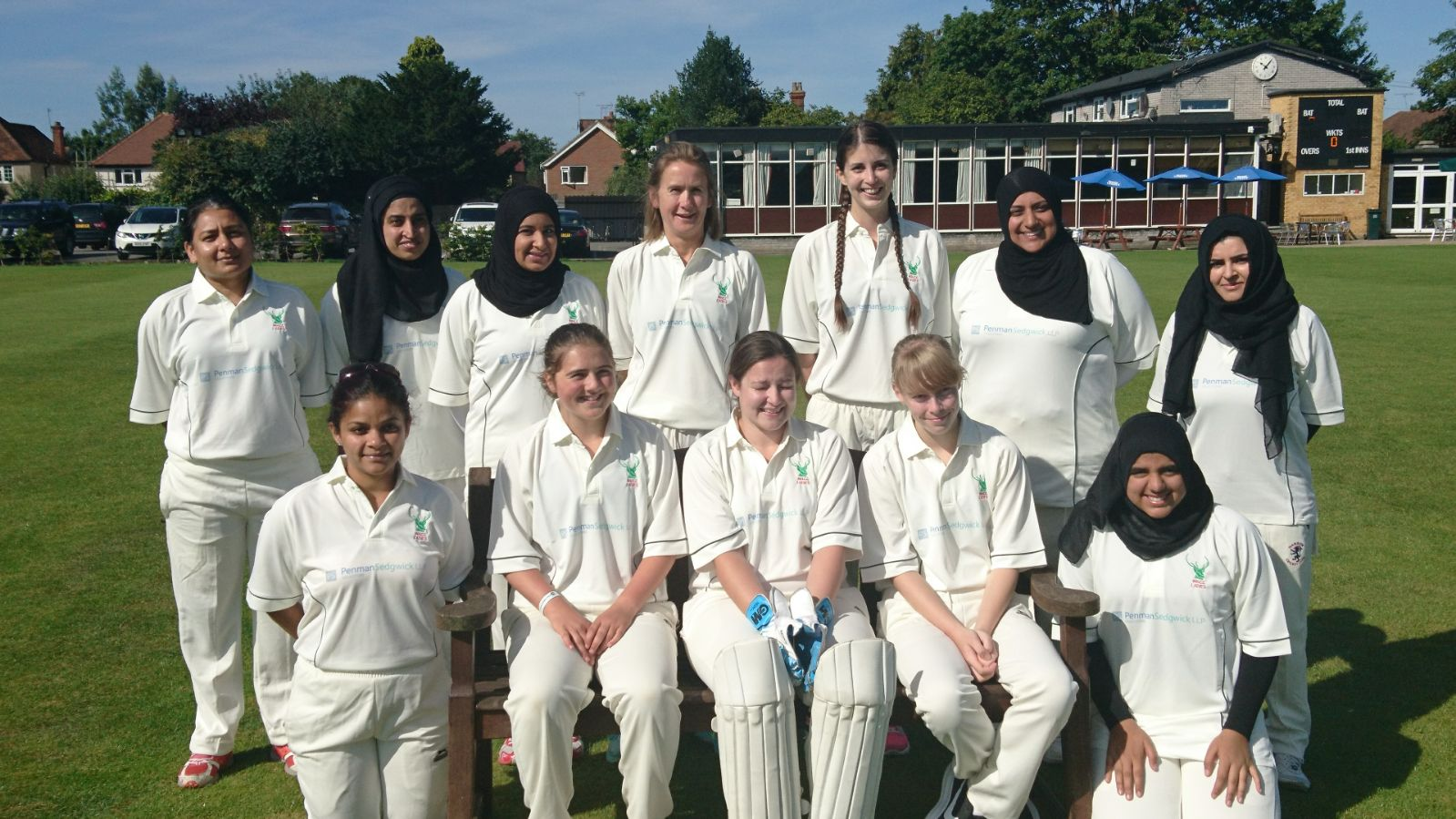 The history-making West Herts ladies side.