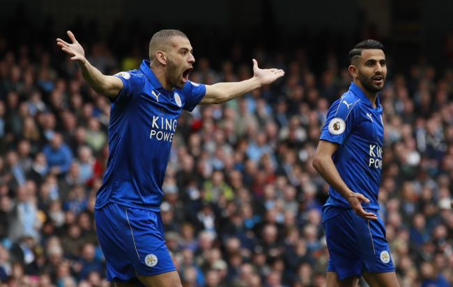 Islam Slimani (left) is not on Watford's radar, the Watford Observer understands. Picture: Action Images