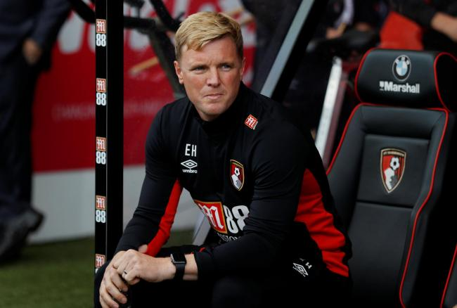 'Lots of work to do': Eddie Howe. Picture: Action Images