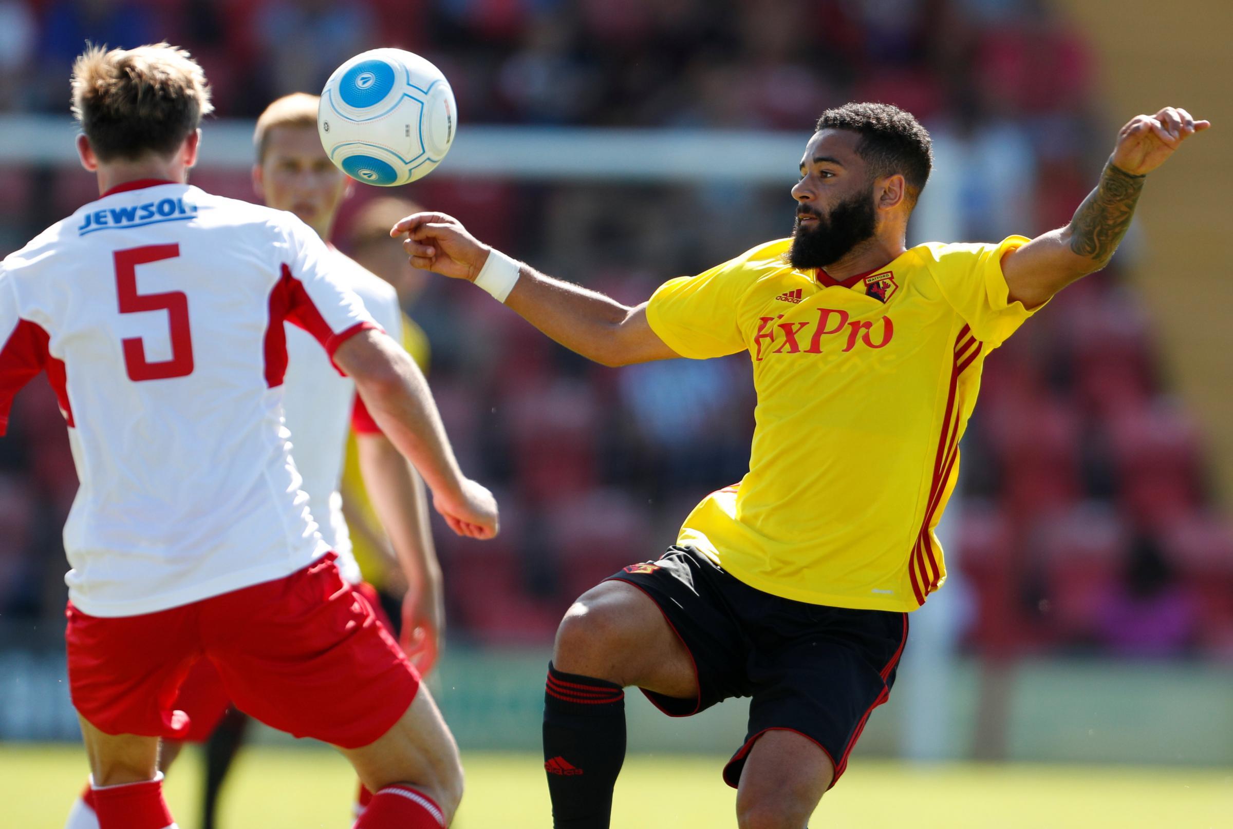 Bristol Rovers manager Graham Coughlan wants Watford's Alex Jakubiak