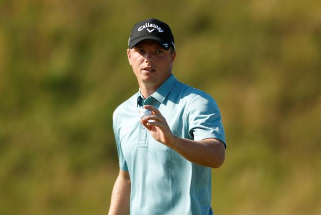 Callum Shinkwin has opened up with a 70 at Royal Portrush. Picture: Action Images