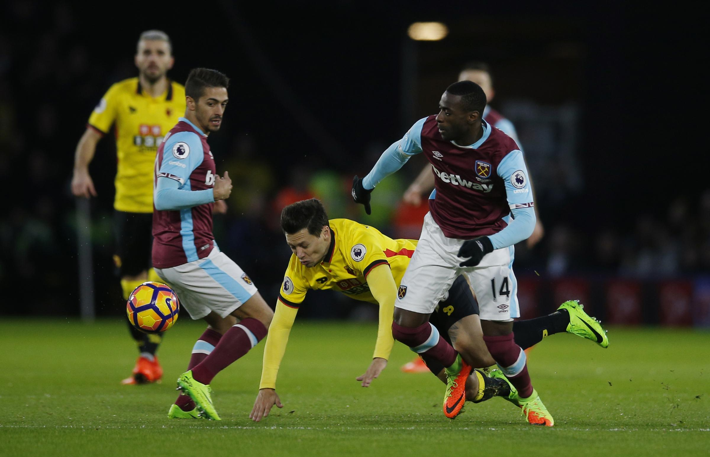Mauro Zarate has been out of action for Watford since February. Picture: Action Images