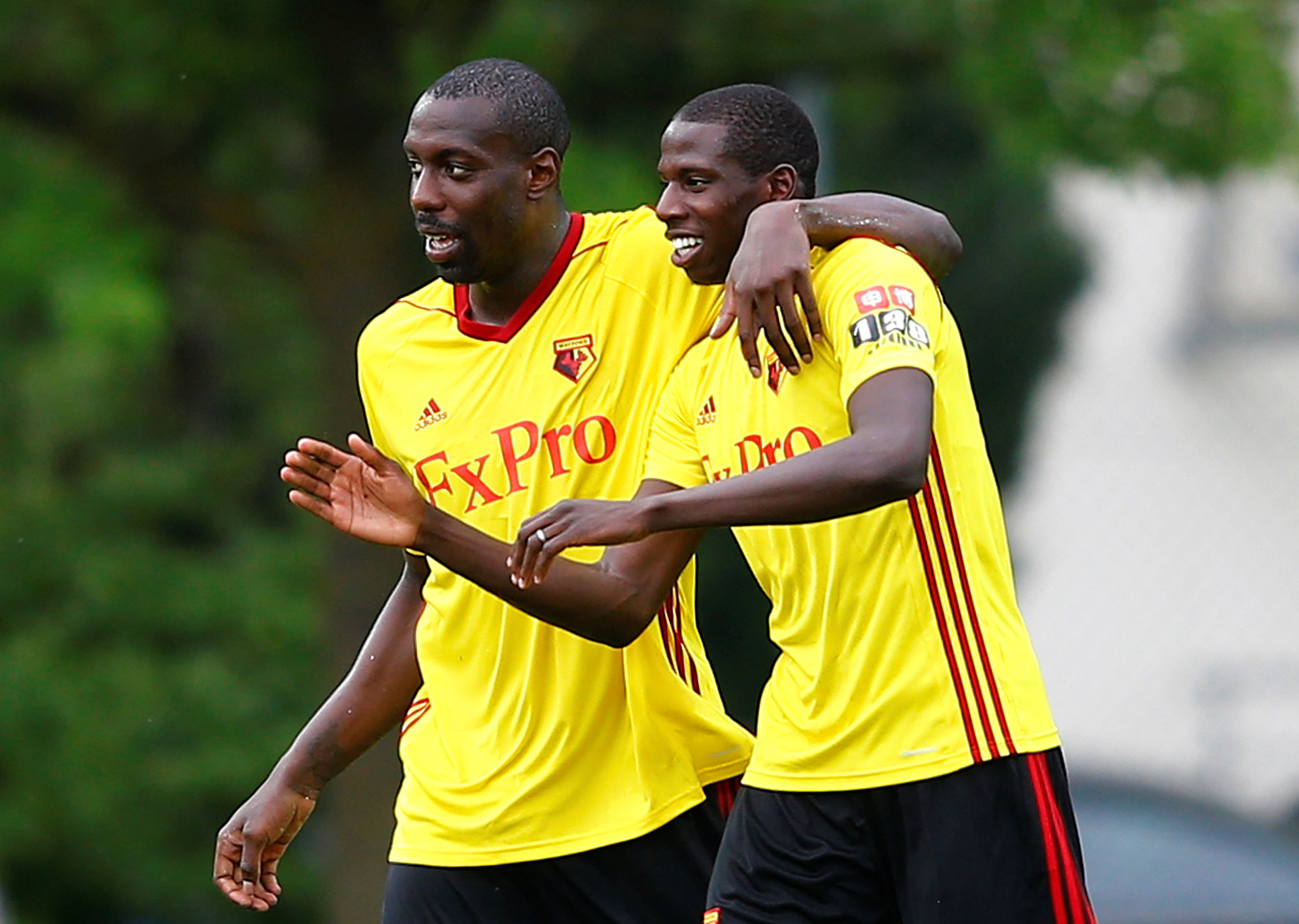 Stefano Okaka is keen to leave Watford this month. Picture: Action Images
