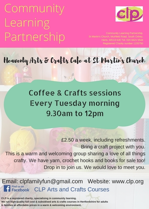 Coffee & Crafts (Weekly)