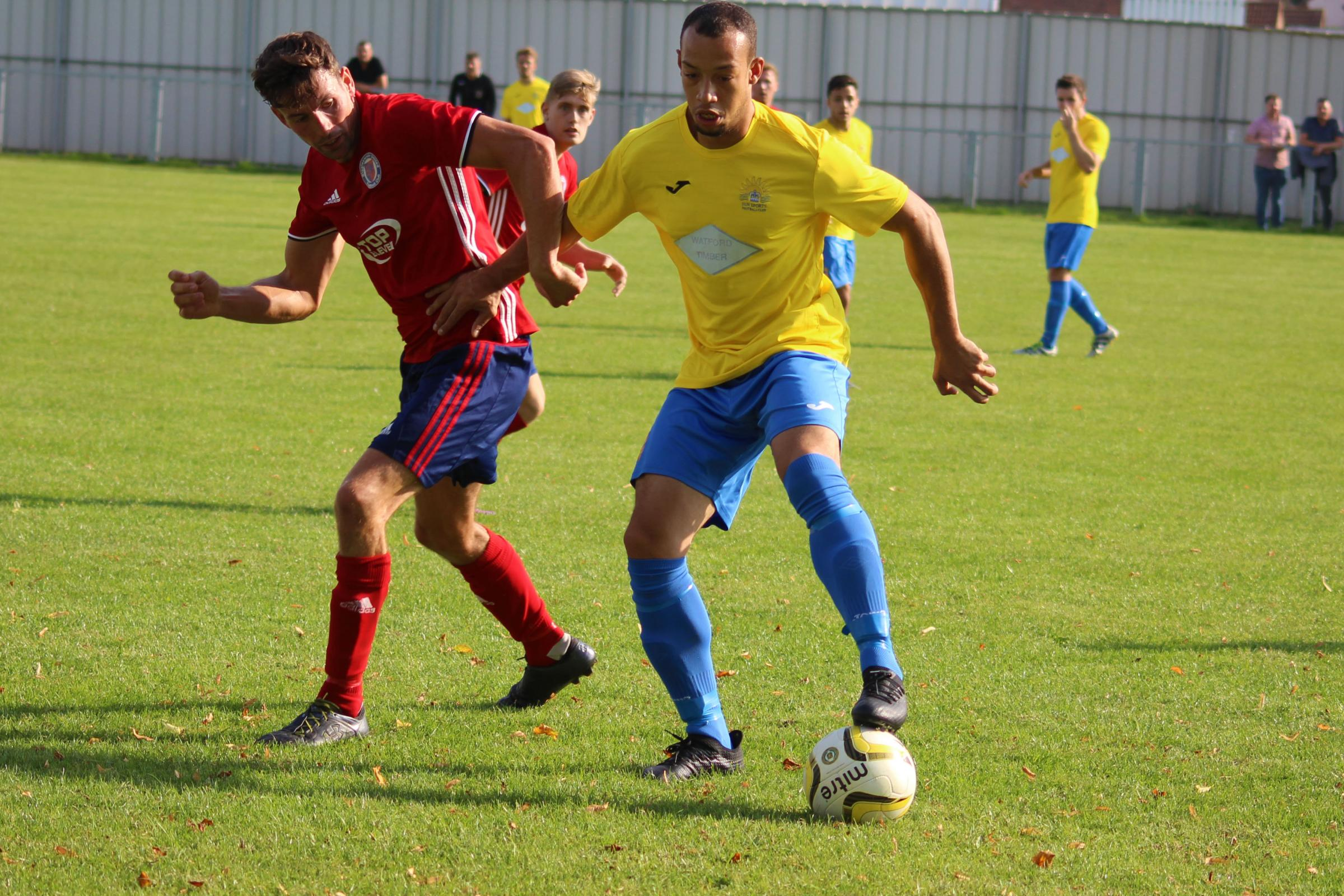 Sun Sports were in action against Biggleswade United