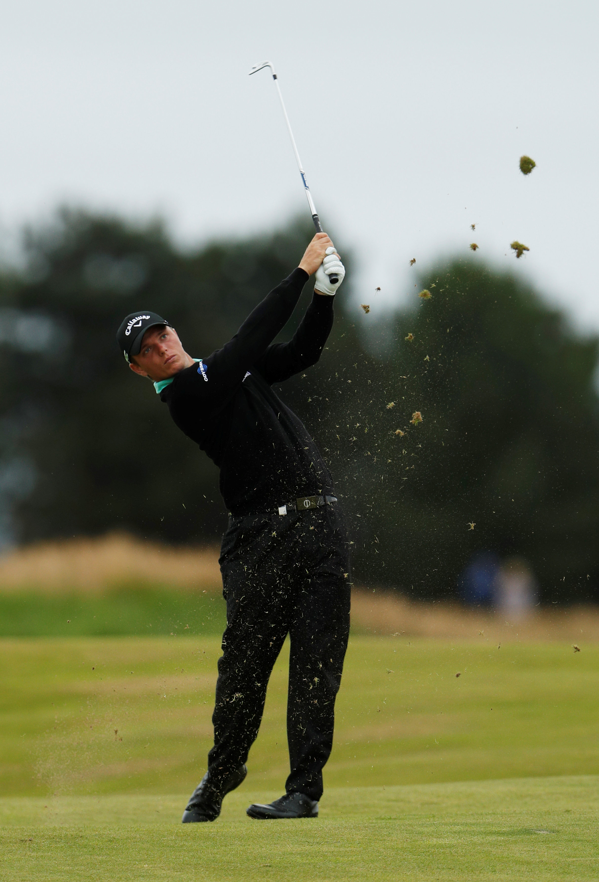 Callum Shinkwin is eight shots off the current lead in South Africa. Picture: Action Images