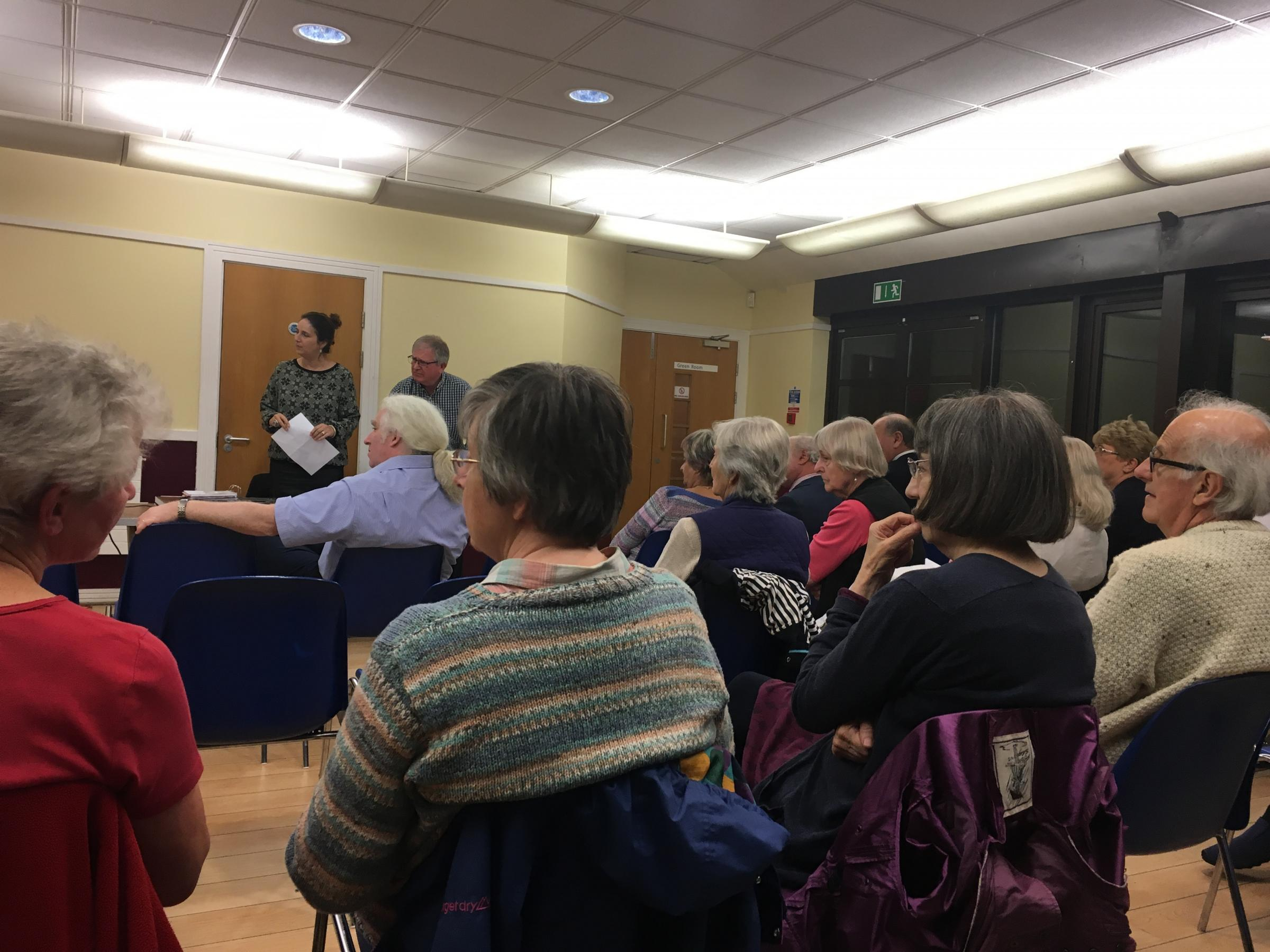 Members of the Bushey Public Forum met to discuss NHS in the area