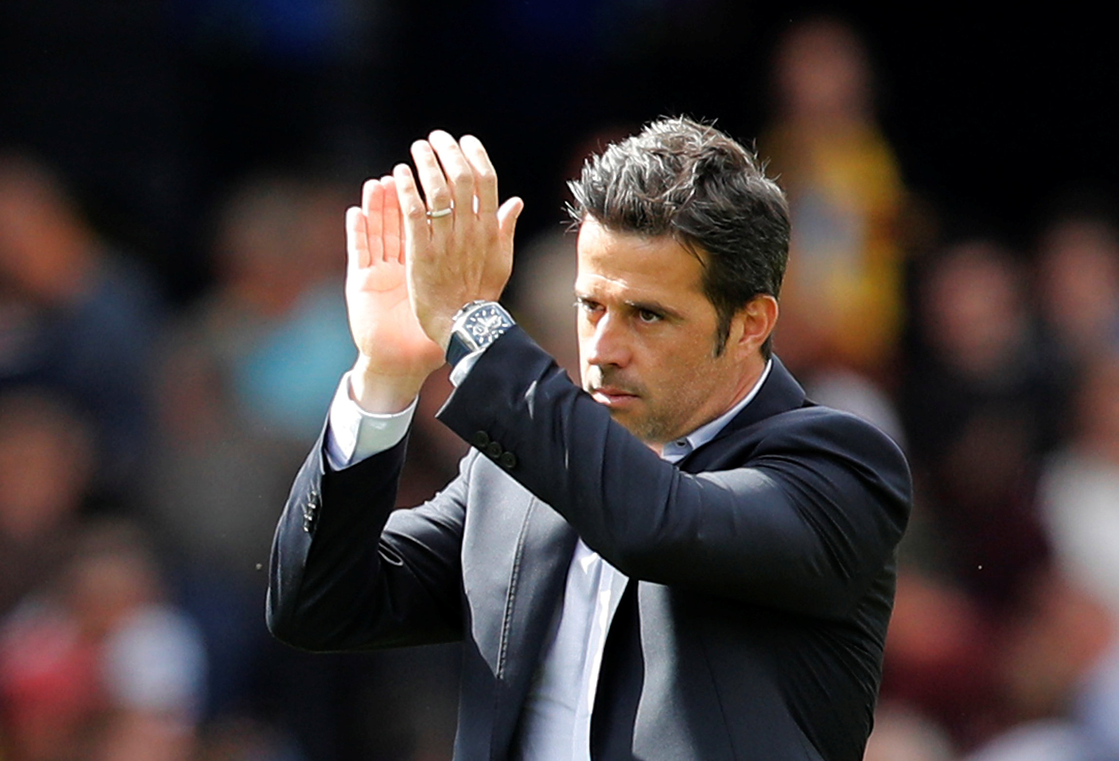 Marco Silva says Watford must continue to prove themselves against Arsenal. Picture: Action Images