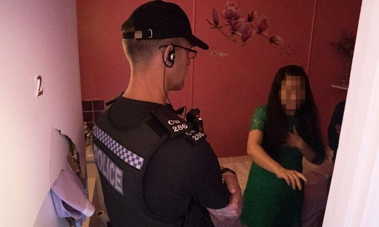 London massage parlours 'operating like new red-light district.