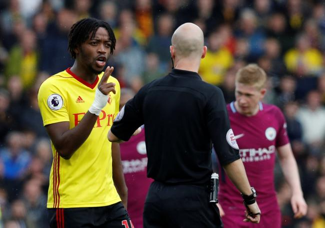 Nathaniel Chalobah is likely to be out until around the New Year, according to Watford. Picture: Action Images