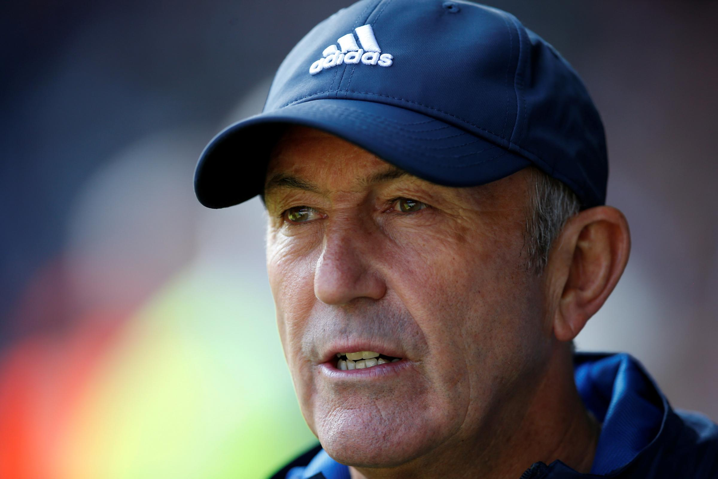 West Bromwich Albion manager Tony Pulis. Picture: Action Images